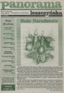Panorama Leszczyńska 1991.12.22 R.13 Nr51/52(621/622)