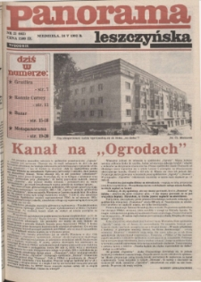 Panorama Leszczyńska 1992.05.24 R.14 Nr21(643)