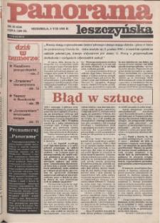 Panorama Leszczyńska 1992.08.09 R.14 Nr32(654)