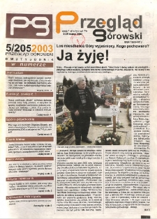 Przegląd Górowski 2003.03.12 R.13 Nr 5(205)