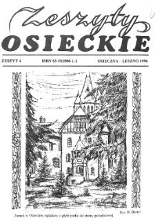 Zeszyty Osieckie 1996 Nr 4