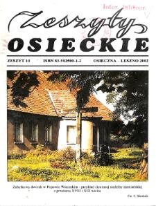 Zeszyty Osieckie 2002 Nr 10
