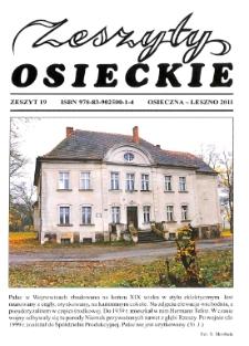 Zeszyty Osieckie 2011 Nr 19