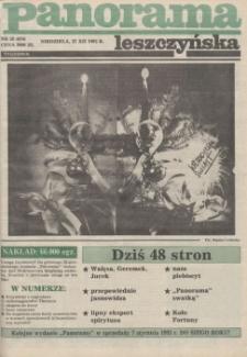 Panorama Leszczyńska 1992.12.27 R.14 Nr52(674)