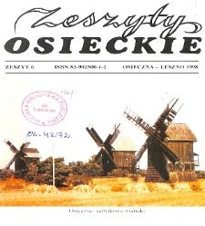 Zeszyty Osieckie 1998 Nr 6