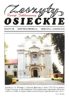 Zeszyty Osieckie 2012 Nr 20