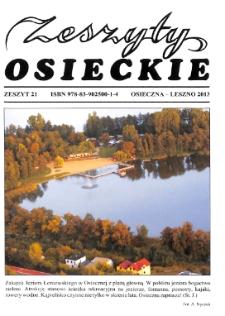 Zeszyty Osieckie 2013 Nr 21