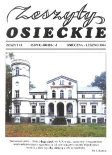 Zeszyty Osieckie 2004 Nr 12