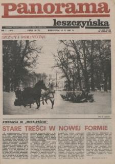 Panorama Leszczyńska 1987.02.15 R.9 Nr7(369)